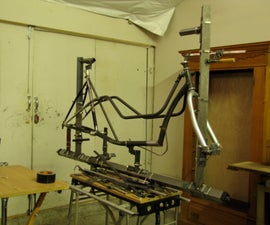 Easy Bicycle Framebuilding Jig