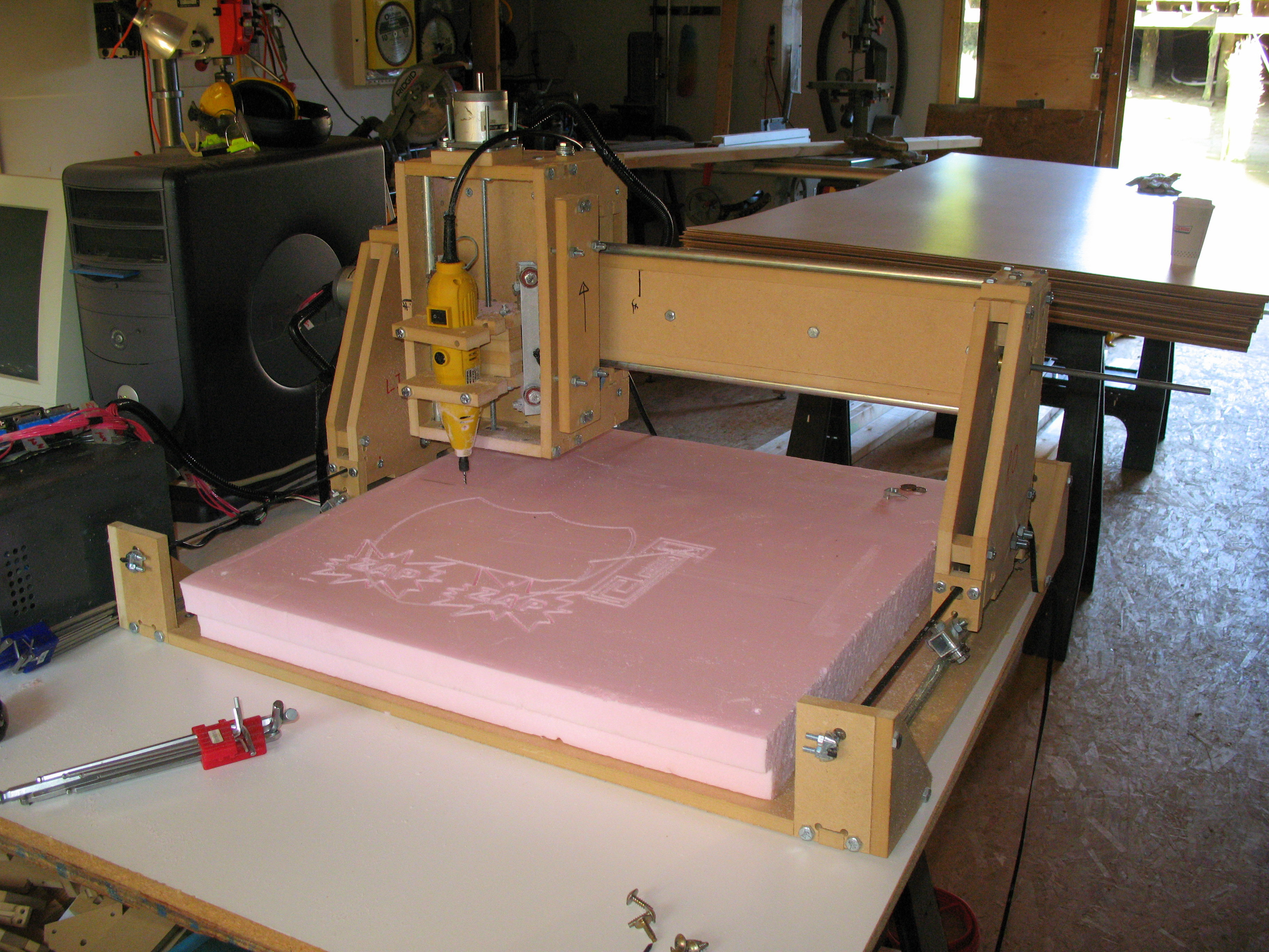 Picture of How to Make a Three Axis CNC Machine (Cheaply and Easily)