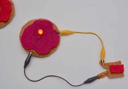 Sew an LED