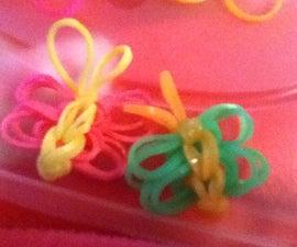 Rainbow Loom Butterflies