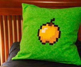 Making a Minecraft Golden Apple Block