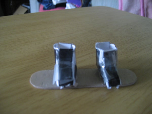 Finger Snowboard