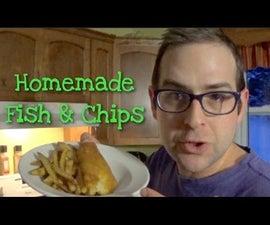 Homemade Fish & Chips