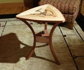 Fossil Inlay Table