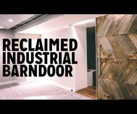 DIY Industrial Barn Door