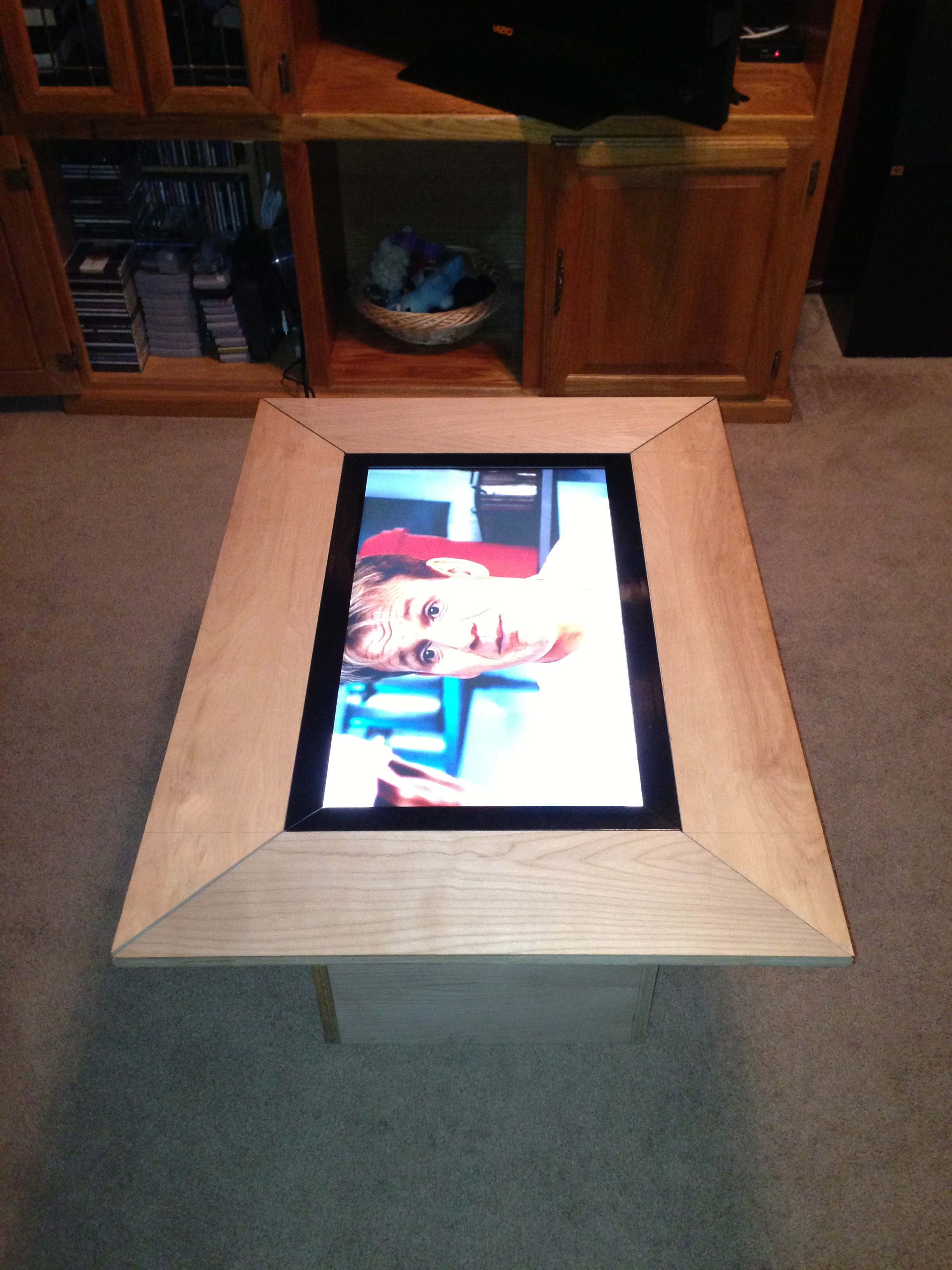 Picture of Making It a Real Table...