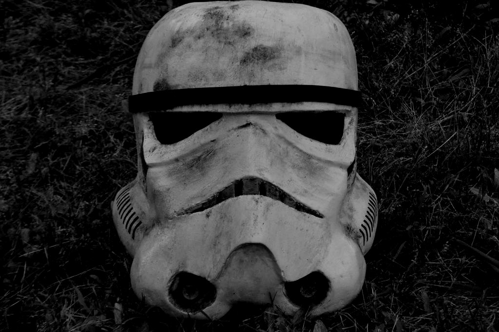 Picture of How to Make a StormTrooper Helmet