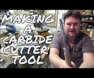 Carbide Woodturning Tool