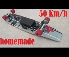 50km/h Electric Skateboard