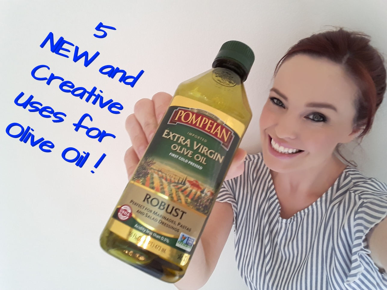 Picture of 5 NEW and Creative Uses for Olive Oil!