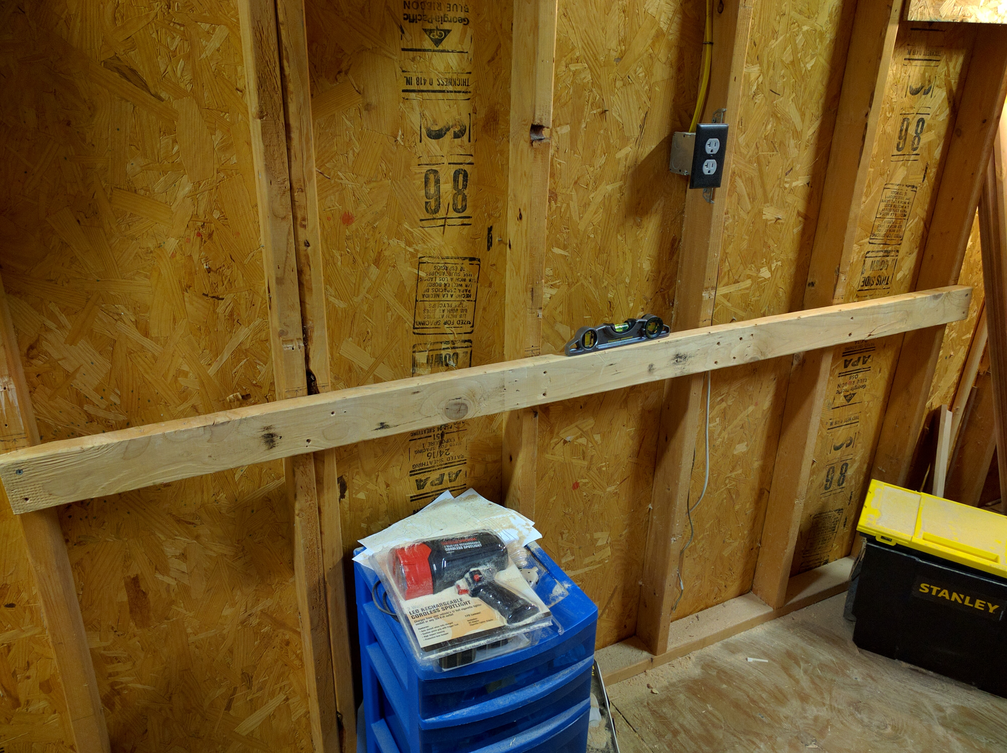 Picture of Mount a 2x4 to the Wall
