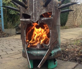 The Witch King Of Angmar Wood Burner