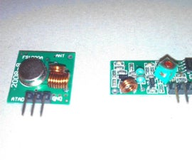 RC Multi Channel Arduino Proportional Transmitter / Receiver With Button Trimmers