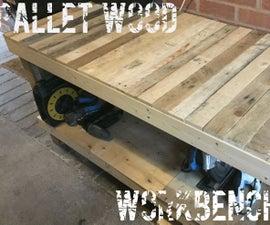 Pallet Wood Workbench.