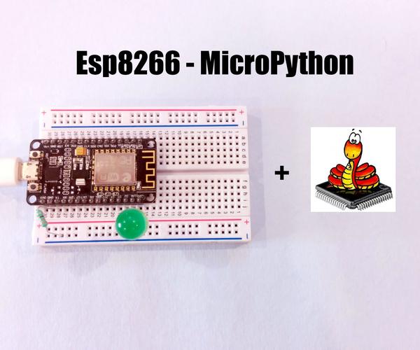 MicroPython Basics Using NodeMCU (ESP8266)