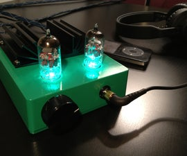 Headphone Hybrid Tube Amp (SSMH)