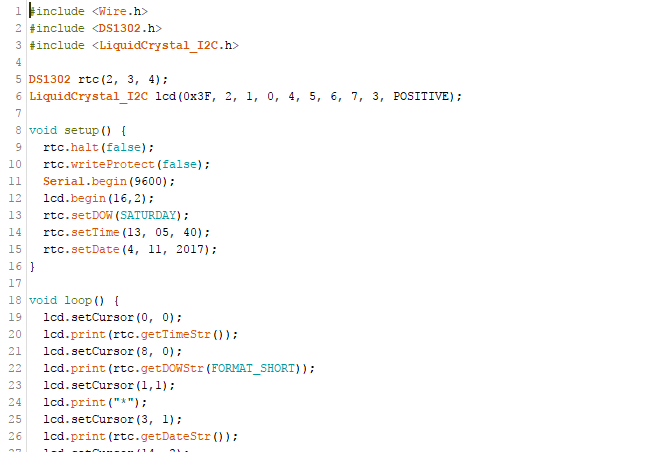 Picture of Modifying and Uploading the Code