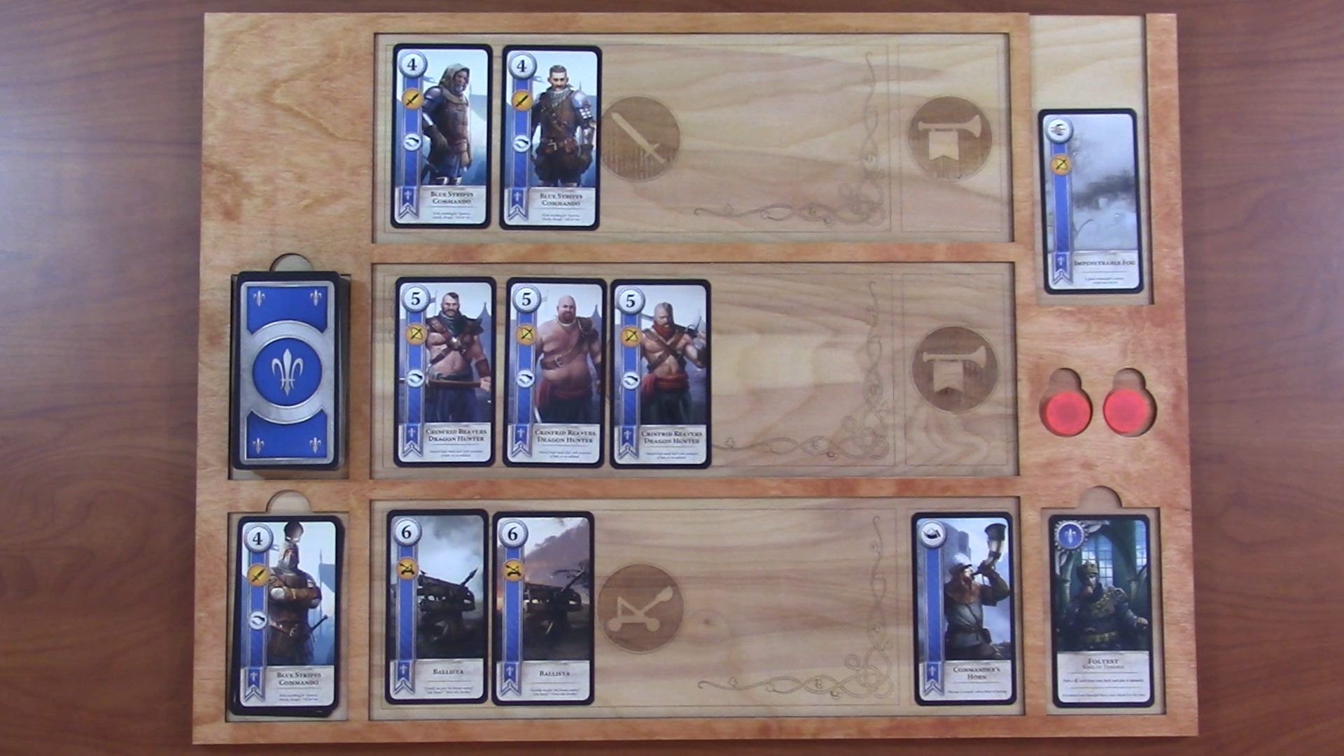 Picture of How to Design and Laser Cut a Gwent Board Inspired by Witcher 3