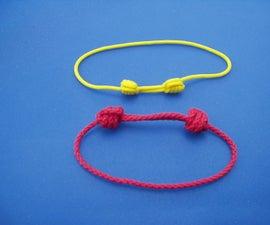 Sliding Knots Bracelet