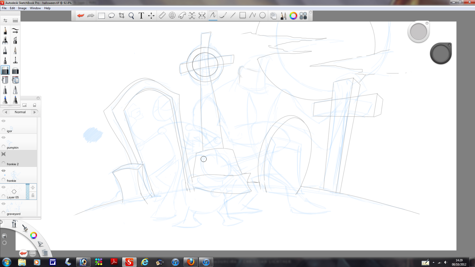 Picture of Background Finalizing