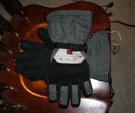 Remote Control iPod Gloves