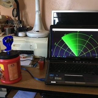 Arduino - Radar/Ultrasonic Detector