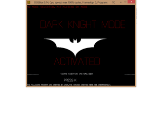 CLOUDIAN BATCH VIRUS CREATOR WITH AWSUM DARK KNIGHT GraPHICS