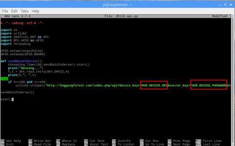 RaspbianOS, Loading Python Program to Raspberry and Configuration Needed