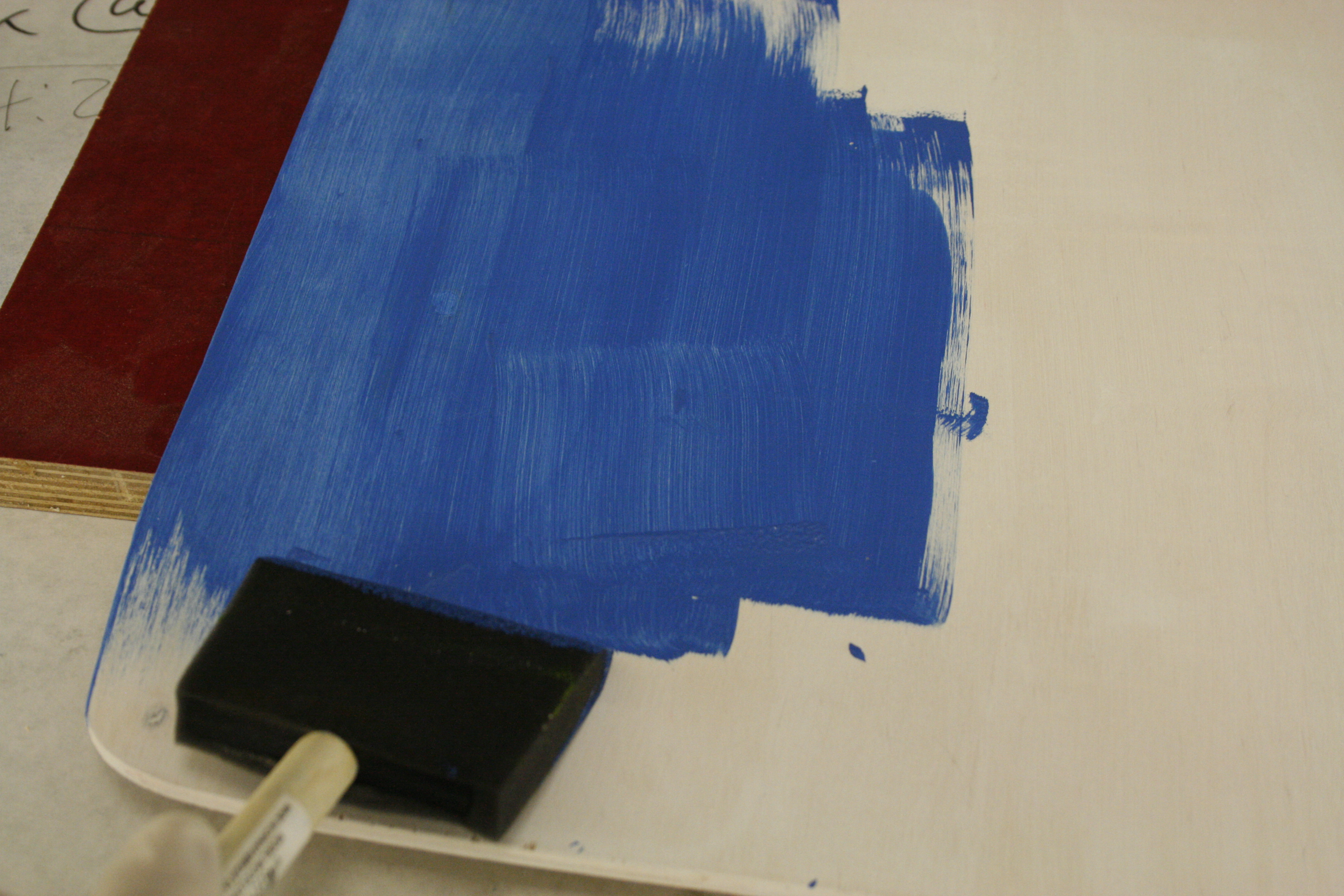 Picture of Prime and Paint With a Foam Brush