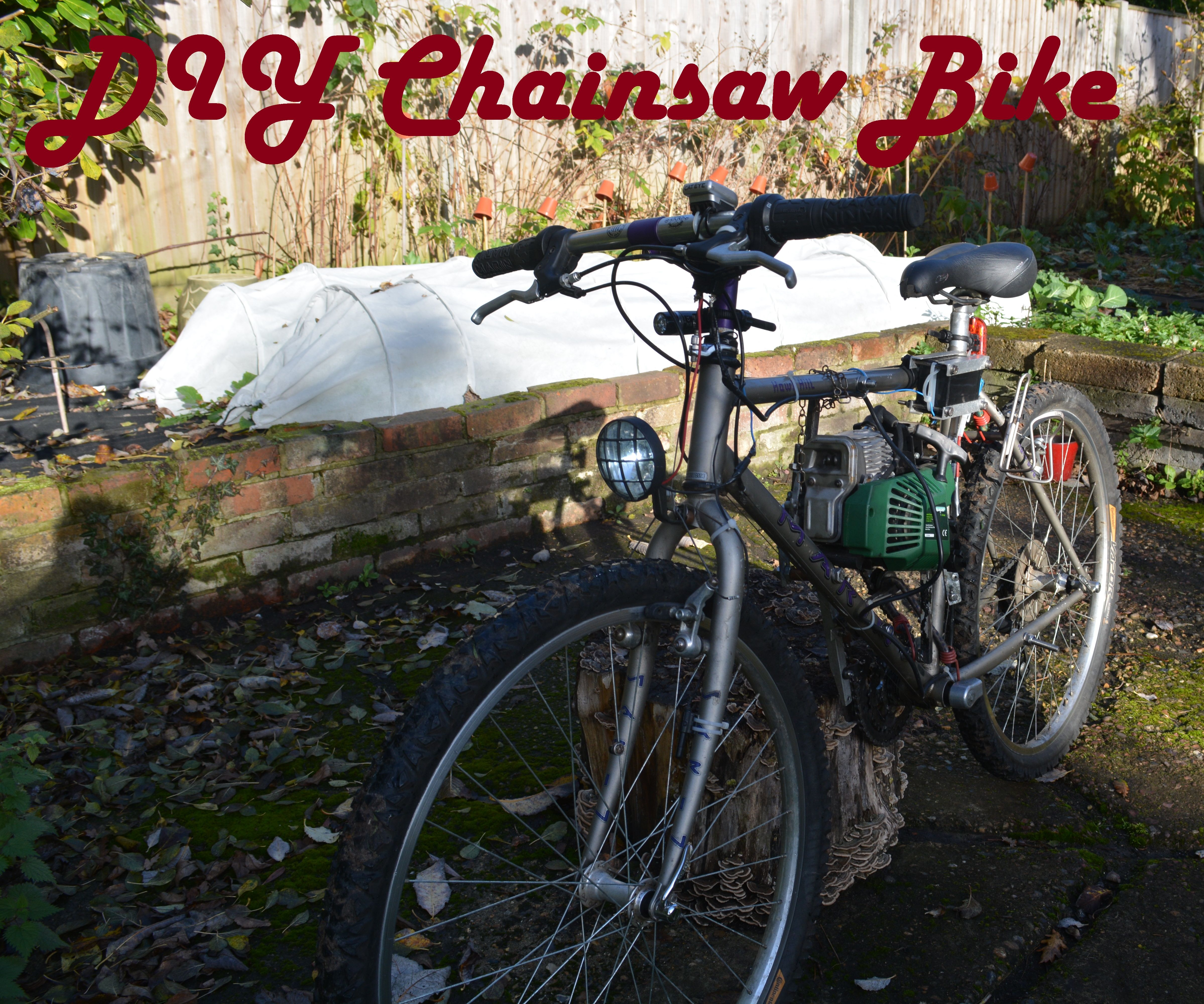 Mountain Bike Drill Diagrams Engine Control Wiring Diagram Diy Chainsaw 13 Steps With Pictures Rh Instructables Com Full Suspension Parts