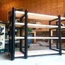 Modern Shelving System With NO HARDWARE!!