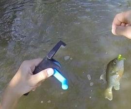 3D Printed Pocket Fishing Rod