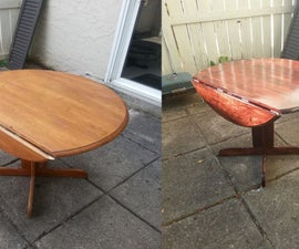 Breathe Life into an Old Drop Leaf Table