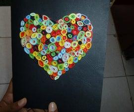multi coloured love