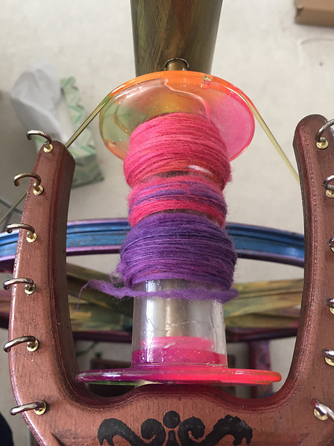 Picture of Resin Spinning Wheel Bobbins