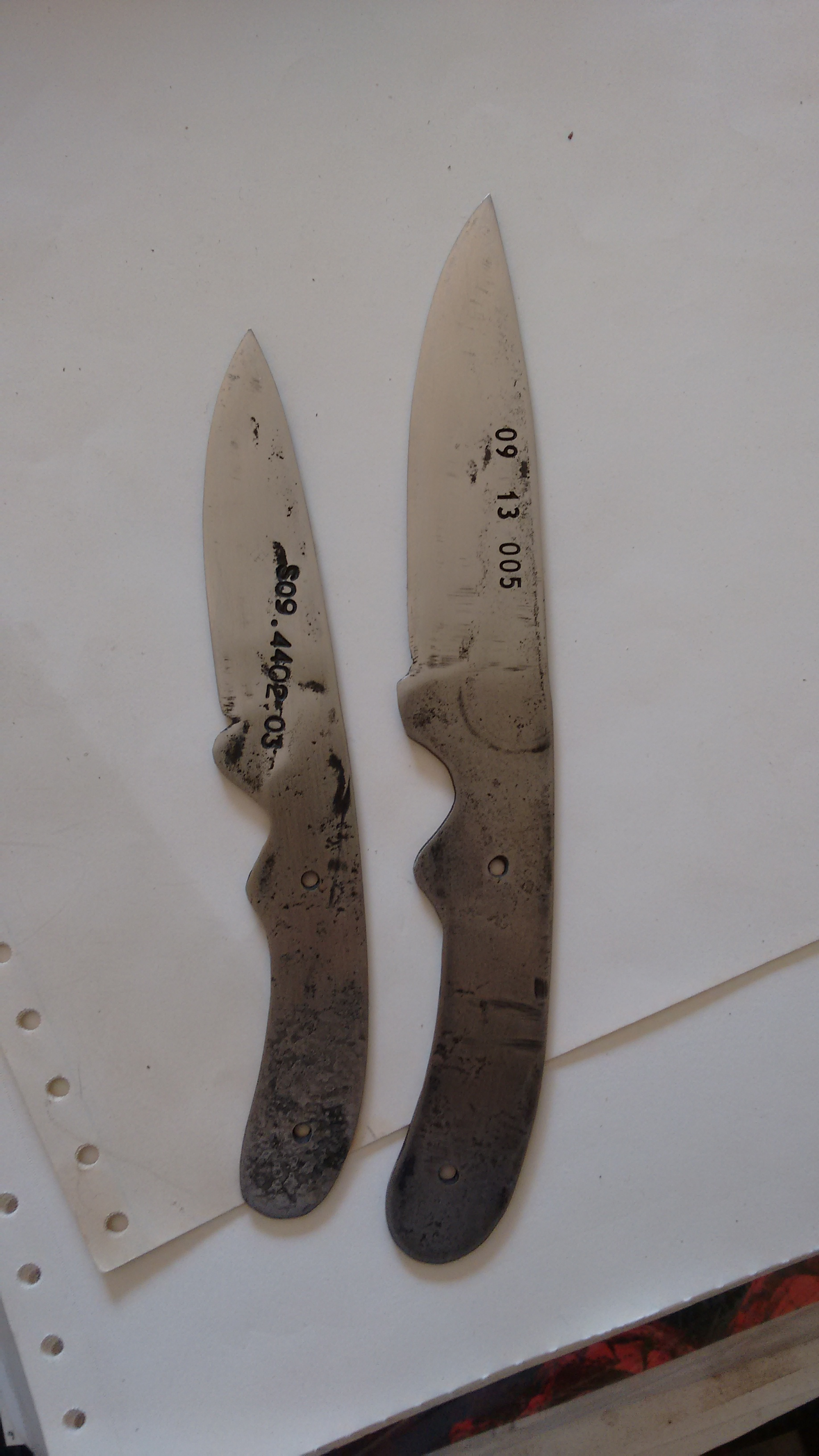 Picture of Lawn Mower Blade to Custom Knife