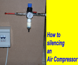 DIY Air Compressor Silencer Box