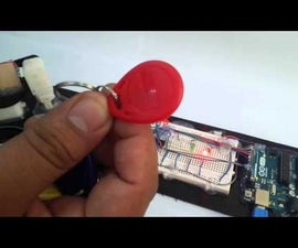 Home Security System Using RFID and Reed Switch Controlled using Arduino Microcontroller