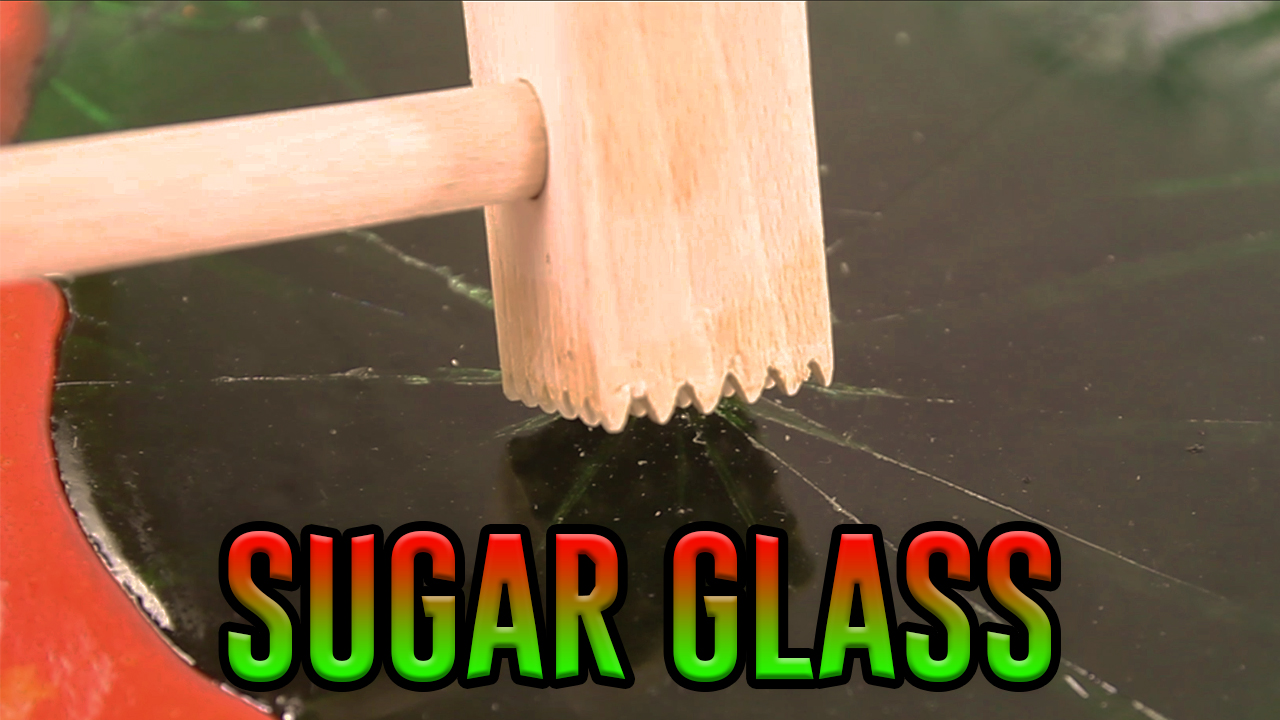 Picture of HOMEMADE SUGAR GLASS