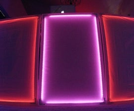Lightweight Interactive LED DJ Panels
