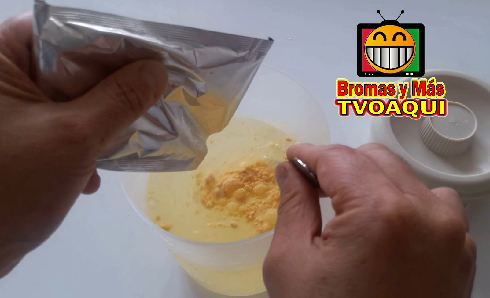 Picture of Cheese Juice Prank