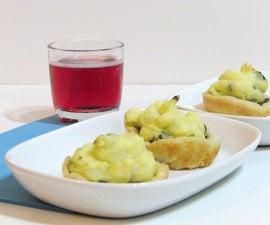 Gorgeous Potato Mushroom Tarts