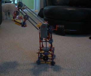Small Motorized Knex Crane