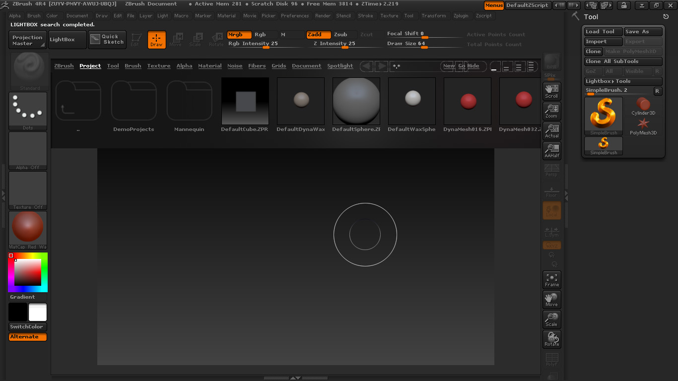 Picture of Zbrush