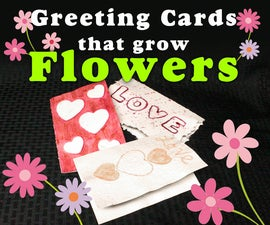 Flower Growing Greeting Cards