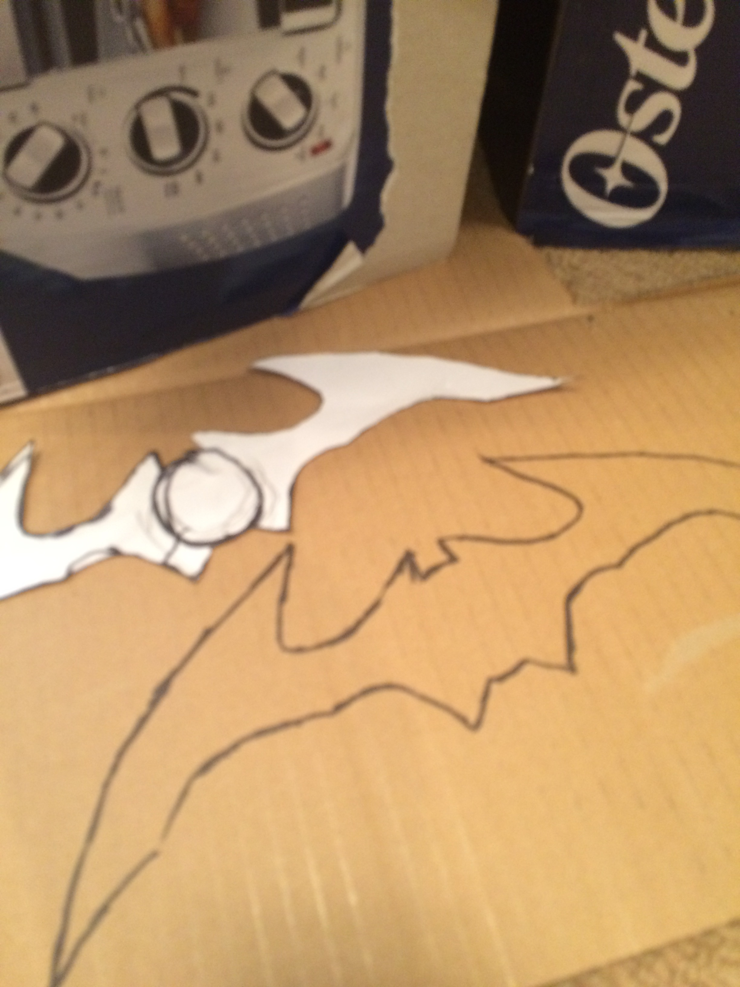 Picture of Transferring to Cardboard