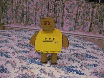 Homemade 3D Instructables Robot