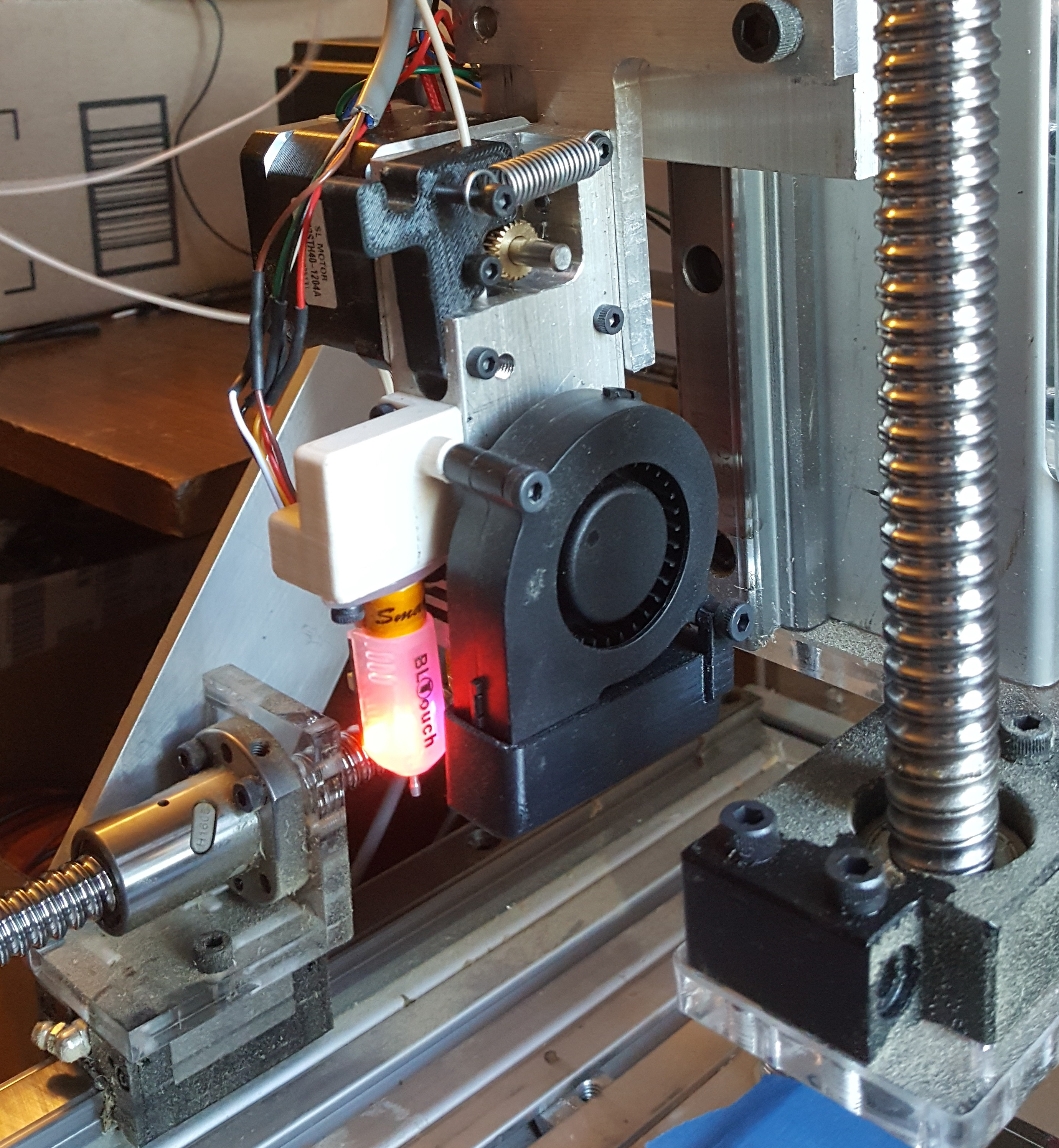 Picture of Custom 3D Printer Extruder
