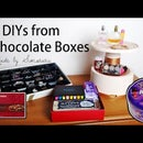 3 DIY Organisation Life Hacks made from Chocolate Boxes (VIDEO)
