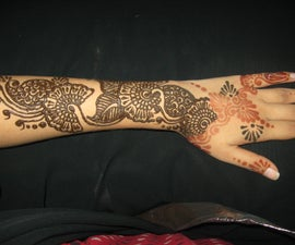 Do your own bridal henna